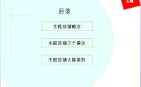 【店铺运营】电子商务营销之主题营销 ¥5