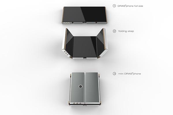 【新奇科技】可折叠的智能手机Drasphone