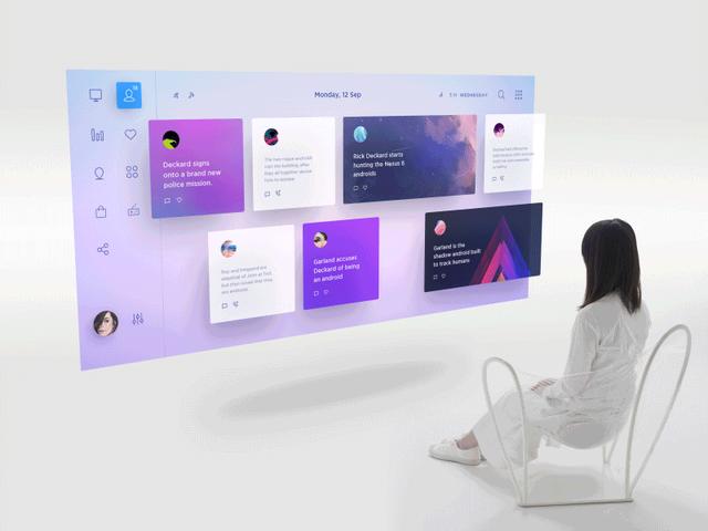 这一年该是渐变色设计的爆发期,三款渐变色网站