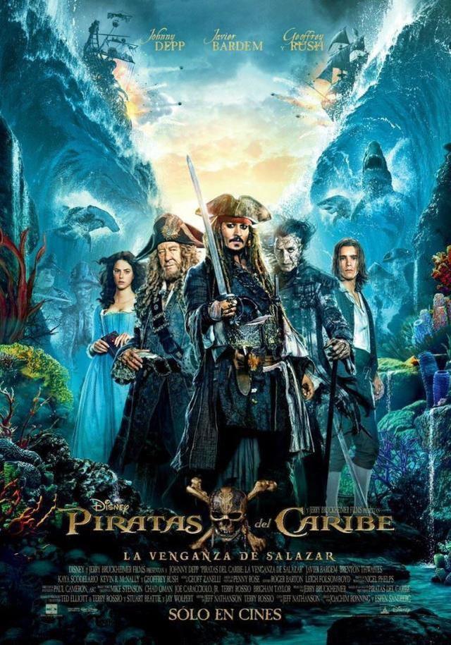 【热门电影】加勒比海盗5:死无对证/Pirates.of.the.Caribbean.Dead.Men.Tell.No.Tales 多酷分享